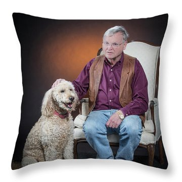 Mike Millie 06 Throw Pillow by M K  Miller
