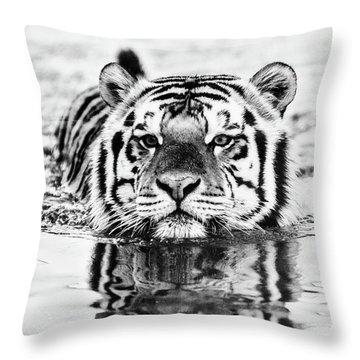 Big Mike  Throw Pillow