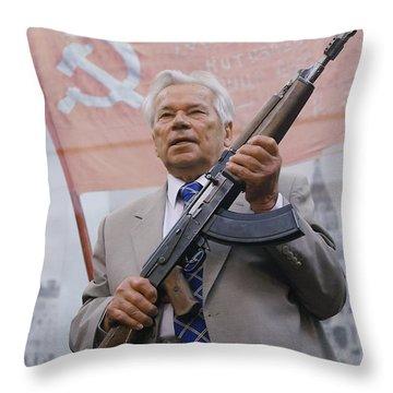 Ak-47 Throw Pillows