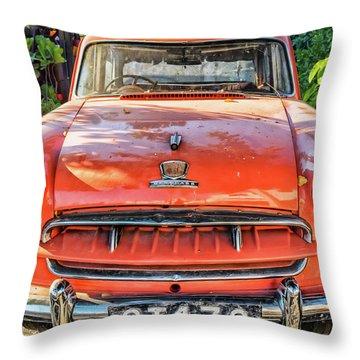 Miki's Car Throw Pillow