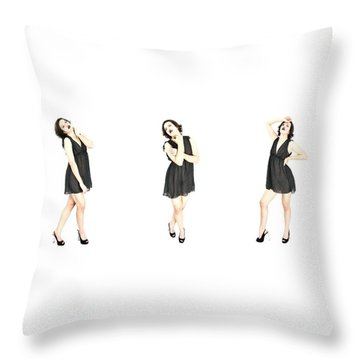 Mikki 4 Throw Pillow