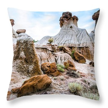 Mikoshika State Park Throw Pillow
