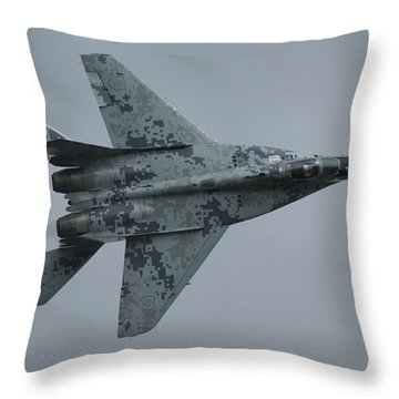 Mikoyan-gurevich Mig-29as  Throw Pillow