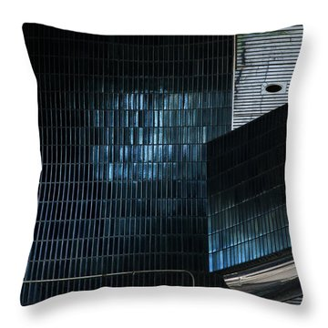 Miksang 1 Throw Pillow by Theresa Tahara