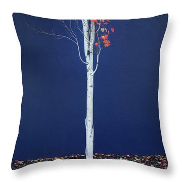 Miksang 7 Coming Soon Throw Pillow by Theresa Tahara