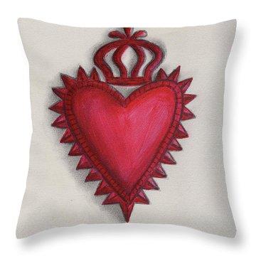 Milagro 4 Throw Pillow