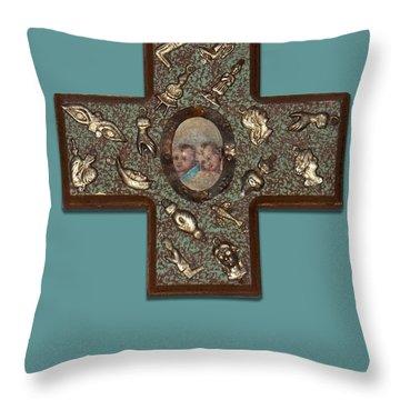 Milagro Cross Throw Pillow