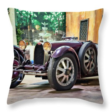 Mile-a-minute Throw Pillow by Eduard Moldoveanu