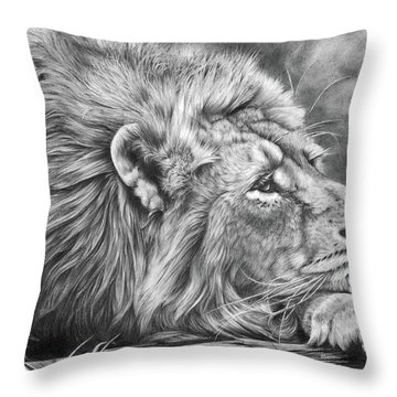 Miles Away Throw Pillow