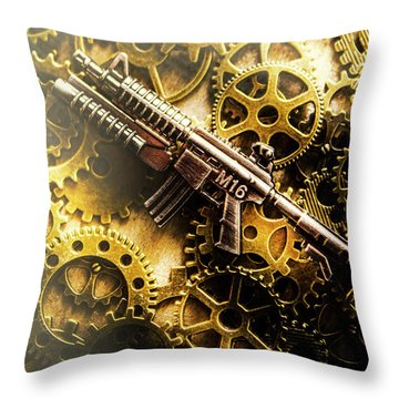 Special Forces Throw Pillows