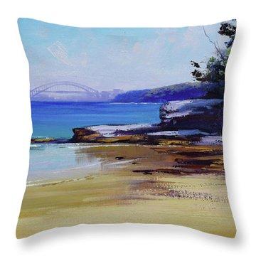 Milk Beach Sydney Throw Pillow
