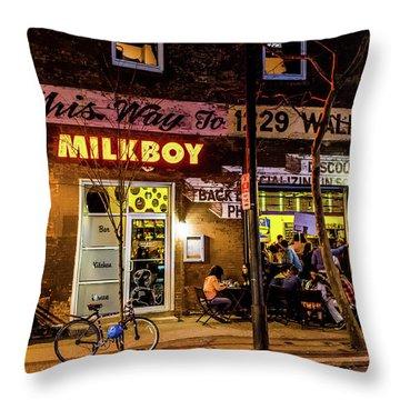 Milkboy - 1033 Throw Pillow