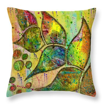 Milkweed Throw Pillow