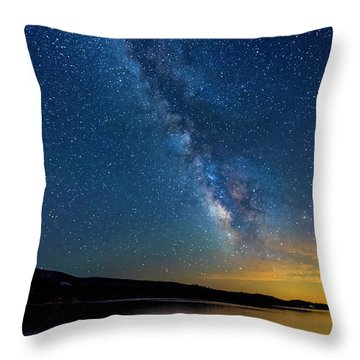 Throw Pillow featuring the photograph Milky Way 6 by Jim Thompson