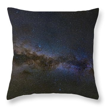 Milky Way South Throw Pillow