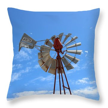 Throw Pillow featuring the photograph Milled Wind by Stephen Mitchell