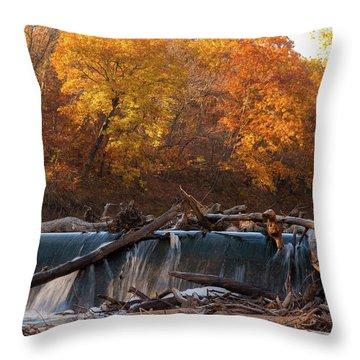 Miller's Dam Throw Pillow