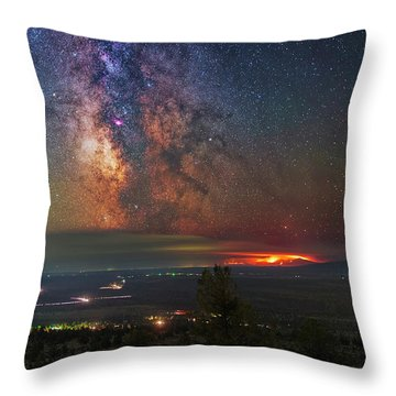 Milli Fire Throw Pillow