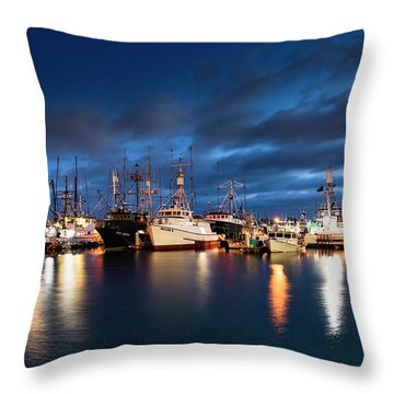 Throw Pillow featuring the photograph Millie by Dan McGeorge