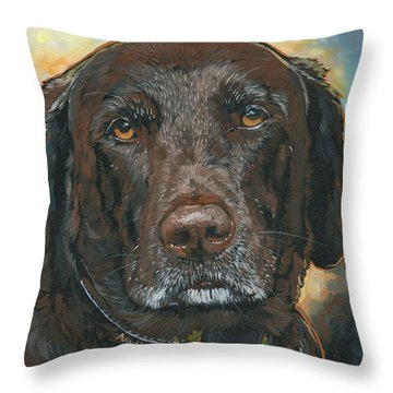 Millie Throw Pillow by Nadi Spencer