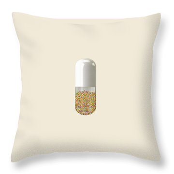 Millions And Billions Throw Pillow