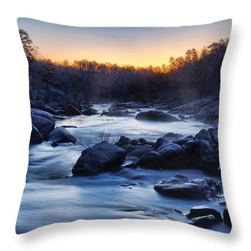 Millstream Gardens  Throw Pillow by Robert Charity
