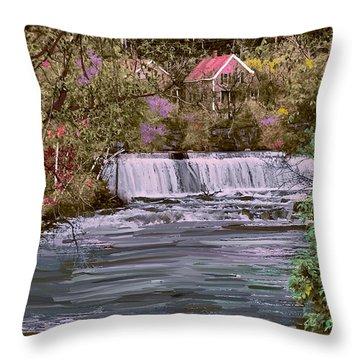 Millstream Throw Pillow