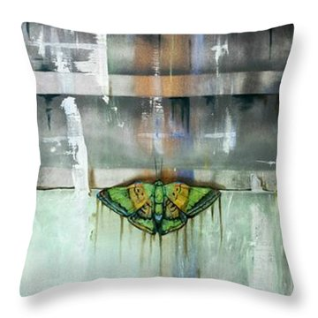 Mimicry Throw Pillow