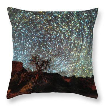 Mind Bending Throw Pillow