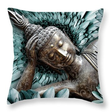 Mind Bloom Throw Pillow