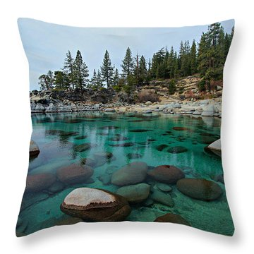 Mind Blowing Clarity Throw Pillow