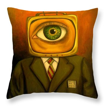 Mind Changer Throw Pillow by Leah Saulnier The Painting Maniac
