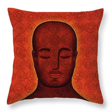 Mind Circles Throw Pillow