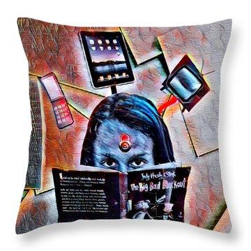 Mind Lock Throw Pillow