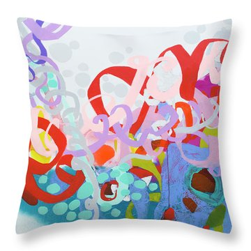 Mind Of Your Own Throw Pillow
