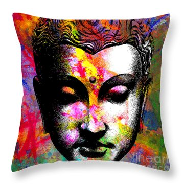 Mind Throw Pillow