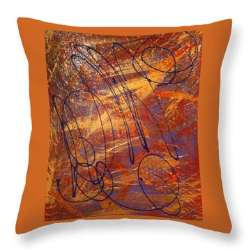 Mind Reflection  Throw Pillow