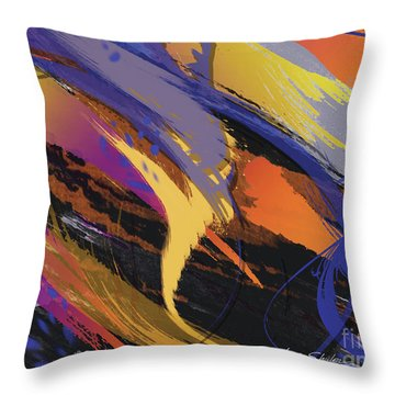 Mind Speed Throw Pillow
