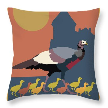 Mind Your Speed Throw Pillow