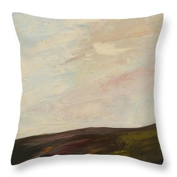 Mindful Landscape Throw Pillow