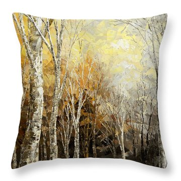 Mindful Melodies Throw Pillow