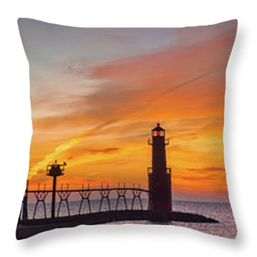 Throw Pillow featuring the photograph Mine Eyes Have Seen The Glory by Bill Pevlor