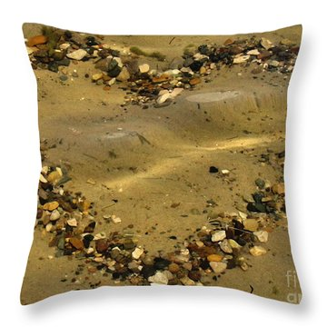 Mine Withstands Throw Pillow