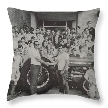 Mineola 0287 Throw Pillow