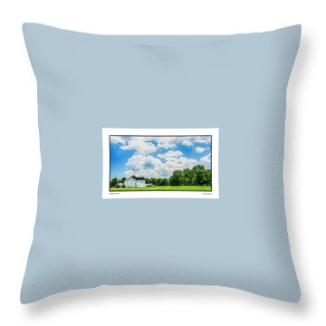 Mingoville Clouds Throw Pillow