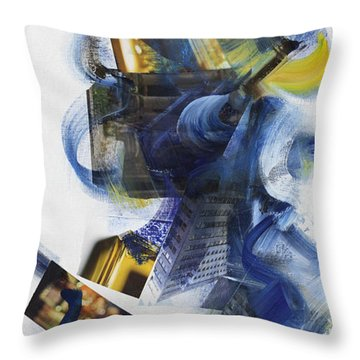 Mingus Cumbia I Throw Pillow