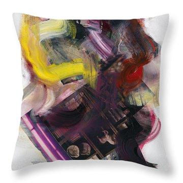Mingus Cumbia II Throw Pillow