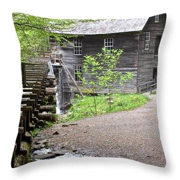 Mingus Mill Memories Throw Pillow