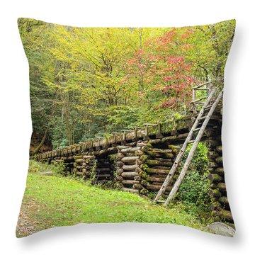 Mingus Mills Millraced Throw Pillow
