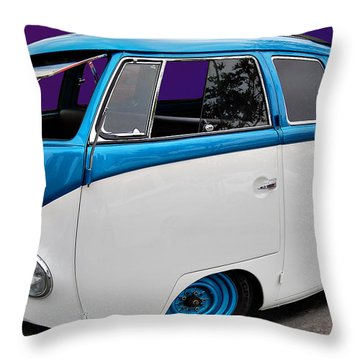 Throw Pillow featuring the photograph Mini Comic Combi by Bill Dutting